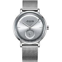 Đồng hồ Nữ Julius Dây kim loại ja1065 Bạc