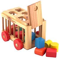 XE thả hình cũi bằng gỗ