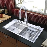Combo chậu rửa và vòi rửa Hàn Quốc RANOX RN4469