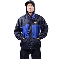 Bộ áo mưa 2 lớp Vĩnh Thịnh Siêu chống thấm 2 công dụng