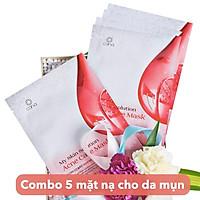 COMBO 5 mặt nạ chăm sóc da mụn _ CANA acne care