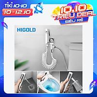 HIGOLD Hand Held Cloth Diaper Sprayer Premium Bidet Sprayer Easy to Install Toilet Bidet Sprayer Kit for Toilet Best