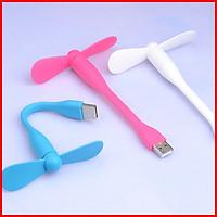 Quạt USB mini 2 cánh siêu mát tiện lợi (giao màu ngẫu nhien)