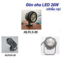 Đèn pha LED 20W HALEDCO chiếu xa, chiếu rọi công trình cao cấp