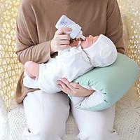 Gối cho bé bú kê tay Rototo Bebe - Gối bú sữa giúp bố, mẹ đỡ mỏi tay