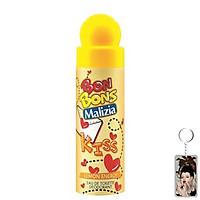 Nước hoa xịt toàn thân Bon Bons Lemon Energy 75ml tặng kèm móc khóa