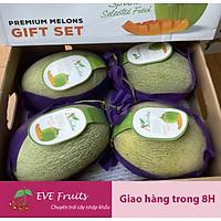 [Chỉ Giao HCM] - Dưa lưới Đài Loan (thùng 4 trái ~ 7kg)