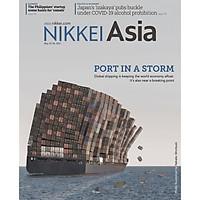 Nikkei Asian Review: Nikkei Asia - 2021: PORT IN A STORM - 21.21 tạp chí kinh tế nước ngoài, nhập khẩu từ Singapore