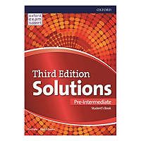 Solutions (3E) Pre-Intermediate Student's Book