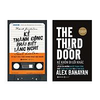 Combo Kẻ Thành Công Phải Biết Lắng Nghe + Kẻ Khôn Đi Lối Khác - The Third Door