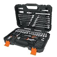 Bộ dụng cụ sửa chữa đa năng,Bộ đồ nghề đa năng,dụng cụ sửa xe,Kìm,Mỏ lết,Cờ lê 124 chi tiết Truper set-12
