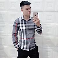 Áo sơ mi kẻ sọc thời trang nam,áo sơ mi nam cao cấp phong cách nam tính 3 màu, dáng áo ôm nhẹ trẻ trung, chất vải thô dày dặn mềm mịn, không bị bai xù, size từ 50-75 kg