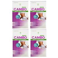 Combo 4 hộp Thực phẩm bảo vệ sức khỏe dùng 2 tháng hỗ trợ giảm cân an toàn với Rocori