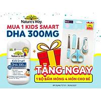 NATURE'S WAY KIDS SMART DHA 300MG - BỔ SUNG DHA CHO BÉ THÔNG MINH