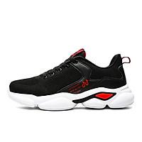 Giày bóng rổ nam mầu đen đỏ cao cấp HML29