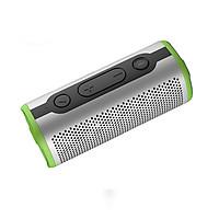 Loa Bluetooth CAPARIES 508 SUPER BASS 12W, Nhôm Nguyên Khối - Hàng Chính Hãng - Đỏ - Wireless + AUX in
