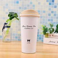 Cốc cà phê giữ nhiệt thiết kế đơn giản (Giao Hàng Ngẫu Nhiên)