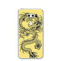 Ốp lưng dẻo cho điện thoại LG V30 - 0224 DRAGON04 - Hàng Chính Hãng