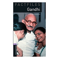 Oxford Bookworms Library (3 Ed.) 4: Gandhi Factfile Audio CD Pack