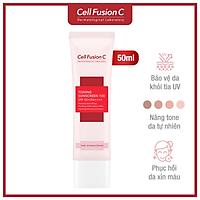 Kem Chống Nắng Nâng Tông Da Cell Fusion C Toning Sunscreen 100 SPF50+ PA+++ 50ml