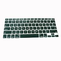 Lót bàn phím in chữ cho Macbook Alphabet Silicone Skin Keyboard - Hàng Chính Hãng