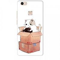 Ốp lưng dành cho điện thoại Vivo V7 - V7 PLUS - Y83 - Mèo Con Dễ Thương