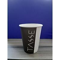 Ly giấy 9oz in hình Tasse (250ml) 1PE lốc 50 cái