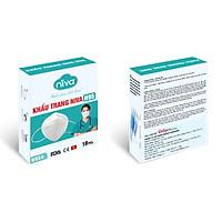 Hộp 10 chiếc khẩu trang Niva N95 - Bảo vệ sức khỏe