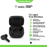 Tai nghe Bluetooth True Wireless Belkin SOUNDFORM Freedom hỗ trợ Apple Find My - Hàng chính hãng - AUC002qe
