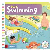 Cambell Fush Full Slide Series: Busy Swimming