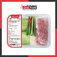 [HCM] - Canh bí xanh thịt heo xay 500g - giao nhanh