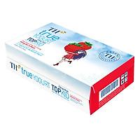 Thùng Sữa Chua Uống Tiệt Trùng Topkid Dâu TH True Milk (110ml x 48 Hộp)