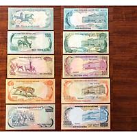 Bộ 5 tờ tiền xưa Việt Nam 5 con thú, Bộ thú chất lượng đẹp như hình - The Merrick Mint