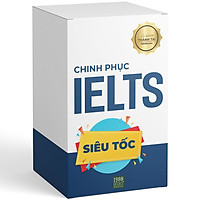 """Hộp Sách (Gồm 3 Cuốn) Chinh Phục IELTS: """"Check Your English Vocabulary For IELTS"""" + """"IELTS No Vocab - No Worries!"""" + """"Unconventional Tactics For Achieving IELTS Writing"""""""