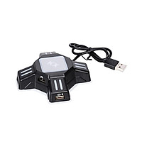 KX Adapter USB Mobile Gaming Keyboard and Mouse Converter Plug and Play Replacement for N Switch/Xbox One/ PS4/ PS3