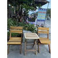 Bộ bàn ghế mini cà phê, sân vườn, quán cóc