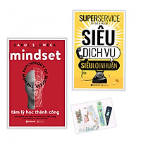 Sách Combo Tâm Lý Học Thành Công - Siêu Dịch Vụ , Siêu Lợi Nhuận + ( Kèm Tặng Bookmark PD)