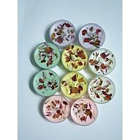 Nến tealight hoa Hộp 10 viên/ Tealight Candles handmade