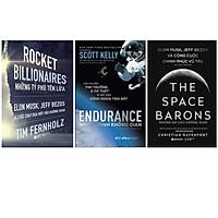Combo Sách Khám Phá Vũ Trụ : Rocket Billionares - Những Tỉ Phú Tên Lửa +  Endurance - Hành Trình Không Gian + The Space Barons - Những Bá Chủ Không Gian