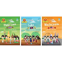 Combo 3 Cuốn Đông Nam Á - Những Điều Tuyệt Vời Bạn Chưa Biết!: Malaysia - Một Châu Á Đích Thực + Lào - Vẻ đẹp giản đơn + Thái Lan - Kỳ diệu Thái Lan