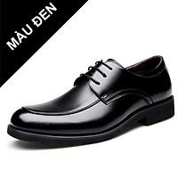 Giày nam da thật, giày công sở, giày tây giày doanh nhân giày giám đốc da thật phong cách Hàn Quốc  năm 2021 Mã 31527