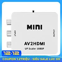 Bộ Chuyển Đổi AV Ra HDMI - Hàng Nhập Khẩu