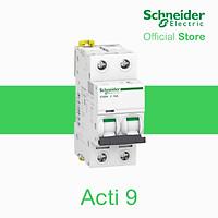 Cầu dao/Aptomat tự động Acti9 MCB 2P 230V- 6kA- Schneider Electric - A9K27206