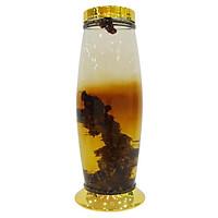 Bình Thủy Tinh Ngâm Rượu Hàn Quốc 12L - Bình Bầu Nắp Bằng