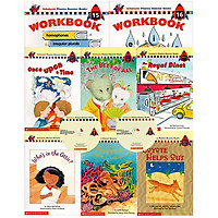 Scholastic Phonics Booster Books : Box Set Level 8 (Include 6 Books, 2 Workbooks and 2 Audio CDs)