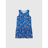 Váy liền bé gái hoạ tiết hoa lá in tràn CANIFA 1DS20S026