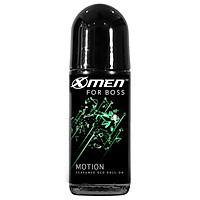 Lăn khử mùi X-Men For Boss Motion - Hương thơm tươi mát 50ml