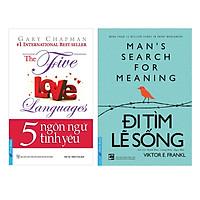 Combo 5 Ngôn Ngữ Tình yêu (Tái Bản) + Đi Tìm Lẽ Sống (2 cuốn)