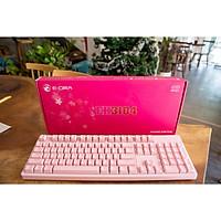 Bàn Phím Cơ Gaming E-Dra EK3104 Pink Huano Switch - Hàng Chính Hãng