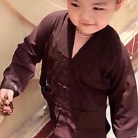 Đồ Lam Đi Chùa Cho Bé Iu Mẫu La Hán